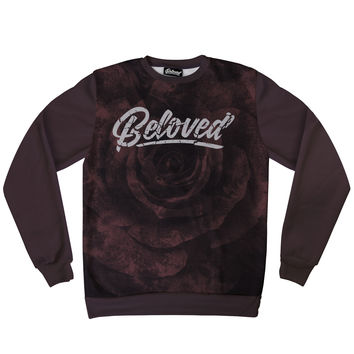 Beloved Premium Burgundy Rose Sweatshirt