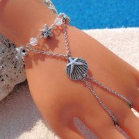 Slave Bracelet, Seashell bracelet, Beach Wedding Jewelry, hand Jewelry - Edit Listing - Etsy