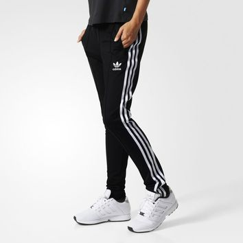 adidas Supergirl Track Pants - Black | adidas US