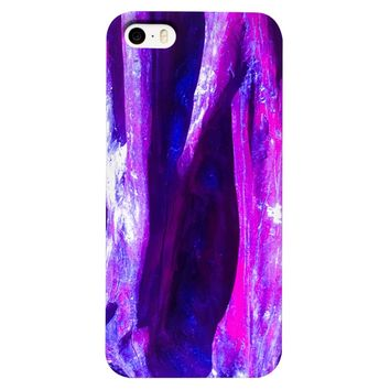 Fuchsia Wood Phone Case