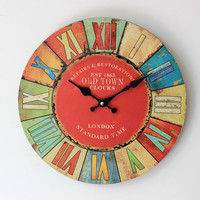 A Creation Clock.Funny Clock.Interesting and Useful Clock. = 4798548164