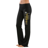 LSU Tigers Women's Flexibility Capri Pant - Black