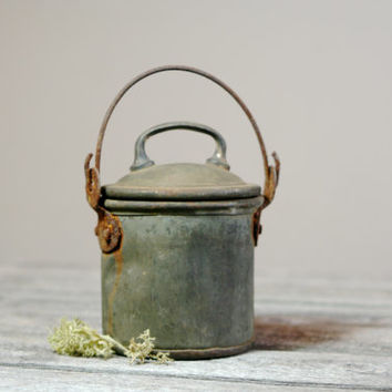 1890s-1900's Container or Pot with Cork Lid!