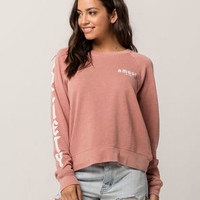 AMUSE SOCIETY Rose Womens Sweatshirt