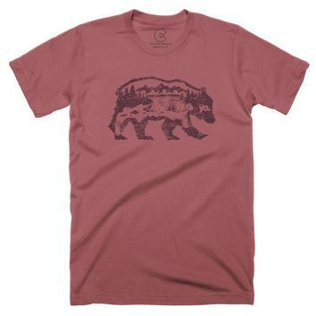 The Wanderer Bear T-Shirt