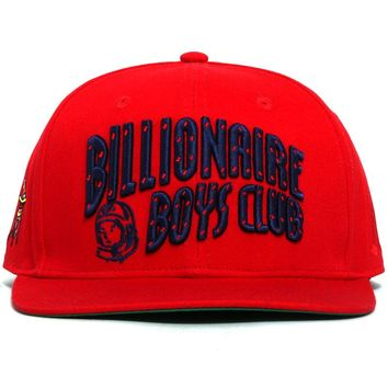 Arch Snapback Hat Racing Red