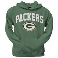 Green Bay Packers - Logo Scrimmage Premium Pullover Hoodie