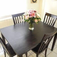 Kitchen/Dining Room Table w 4 Chairs*Refinished!