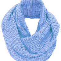 Textured Grunge Snood - Scarves  - Accessories