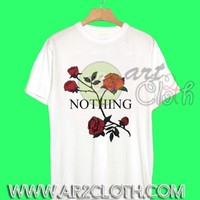 "Nothing Red Roses T Shirt ""Roses Tee"" - Art2cloth.com"