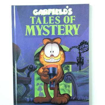Vintage Garfield's Tales Of Mystery Children's Book
