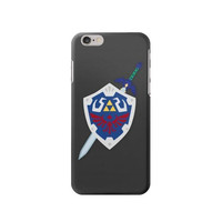 P1678 Skyward Sword Hylian Shield Zelda Case Cover For IPHONE 6