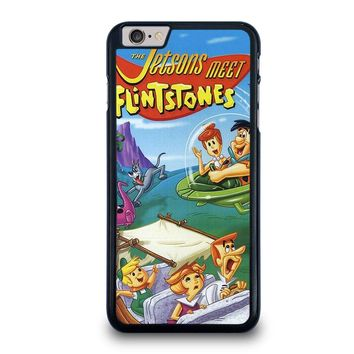JETSONS MEET FLINTSTONES iPhone 6 / 6S Plus Case Cover