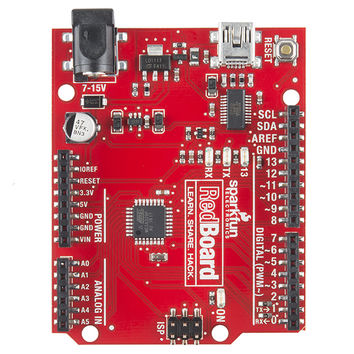 RedBoard - Programmed with Arduino - DEV-12757 - SparkFun Electronics