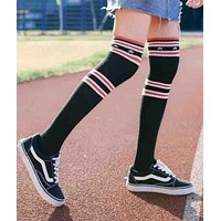 Givenchy Popular Women Stripe Star Knee High Socks I