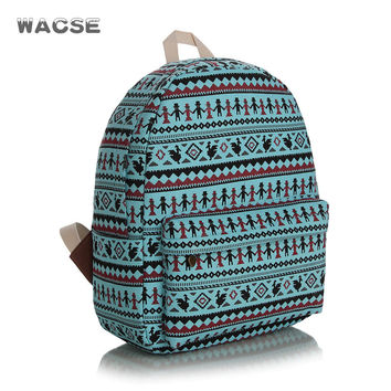 Fashion Casual Thicken Canvas Stylish Backpack = 4888057924