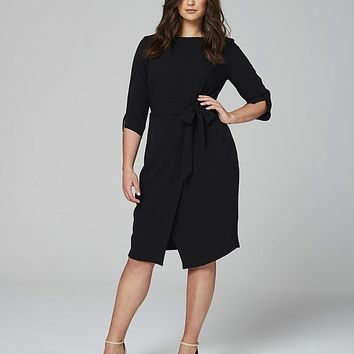 Closet Wrap Front Dress | SimplyBe US Site