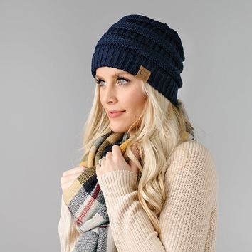 CC Knit Beanies - 18 Colors