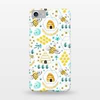 Busy Bees - SlimFit iPhone 8/7 Cases | ArtsCase