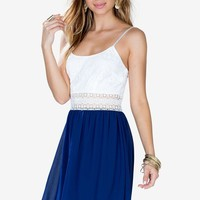 Cami Crochet Chiffon Dress