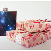 Galaxy hip flask - Cool present - Gift for him, for her - Hip flask - Unique gift for men-Whiskey-flask - Funny gift - Сonstellation - Spase