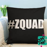 Zayn Malik ZQUAD Logo Zippered Pillow Case, Cushion Case, Pillow case