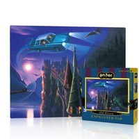 New York Puzzle Company - Enchanted Car Mini Puzzle