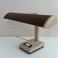 Desk Lamp Mid Century Industrial by vintage19something on Etsy