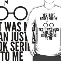 Yes I love Harry Potter