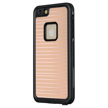 Rosy Stripes FRĒ® iPhone Case