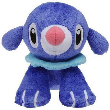 "Takaratomy Takara Tomy Pokemon Sun & Moon Popplio 7"" Stuffed Plush Authentic USA"
