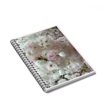NOTEBOOK FOR BRIDE: Floral design, Spiral bound by PonsArt $20.00