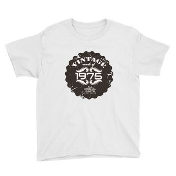 vintage made of 1975 all original parts Youth Tee