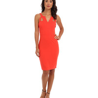 BCBGMAXAZRIA Macie Sheath Dress w/ V-Neck