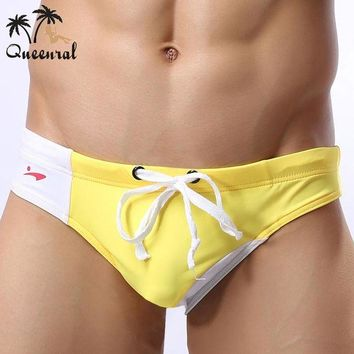 DCCK7N3 swimwear men swimsuit Swimming Trunks Briefs Men's Swimwear Beach bikini Shorts Men  2016 Swimwear Sports Suits Male Swimwear