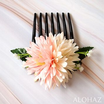 Island Mums Hawaiian Flower Hair Comb
