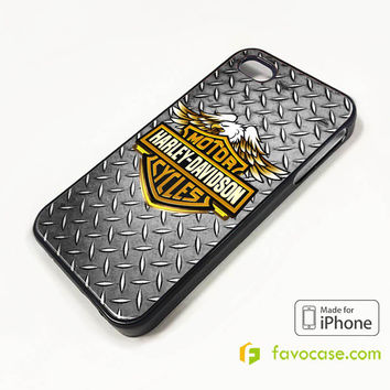HARLEY DAVIDSON Motorcycle Logo iPhone 4/4S 5/5S 5C 6 6 Plus Case Cover