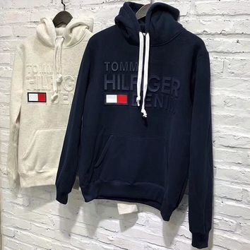 Tommy Hilfiger Women Men Hot Hoodie Sweater