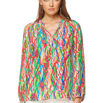 Lilly Pulitzer Elsa Top - Dripping In Jewels