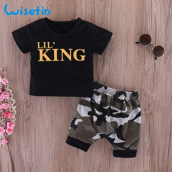Wisefin Newborn Baby Boys Clothes Set Short Sleeve Infants And T 73fc053b52b0