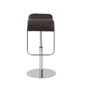 Eurostyle 04387BRN Freddy Brown Adjustable Bar/Counter Stool