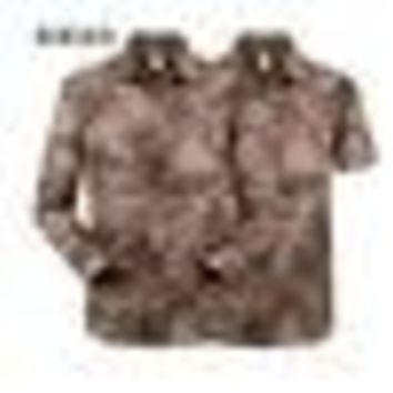 Hiking Shirt Combat Outdoor men summer military combat shirt outdoor quick-dry breathable male shirt long Sleeve detachable two parts sports shirt KO_15_1