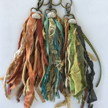 Gypsy Keychain/Backpack Clips (More Colors)