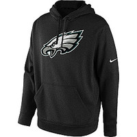 Nike Men's Philadelphia Eagles Logo Performance KO Essential Hoodie