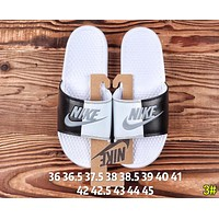 Nike Summer Newest Popular Woman Men Casual Color Matching Couple Sandals Slipper Shoes 3#