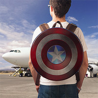 Captain America Civil War Distressed Shield Backpack - Limited Edition