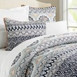 Pia Medallion Quilt and Shams