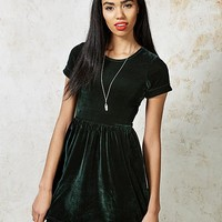 Hearts and Bows Canham Velvet Skater Dress | ARK