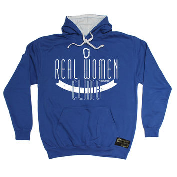 Adrenaline Addict Real Women Climb Rock Climbing Hoodie