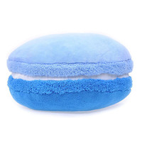 Macaron Cushion Sweet Cake French Dessert Decorative Pillows / Blue Soft Round Floor Cushions Macarons Pillows Free Shipping
